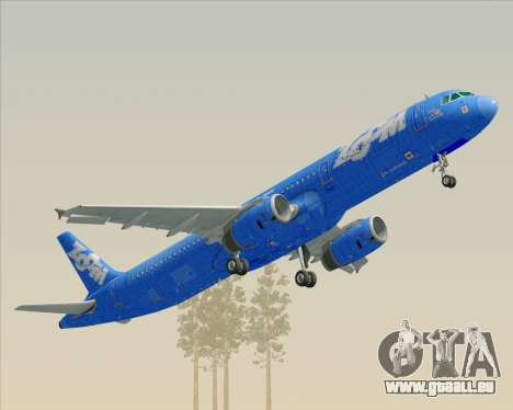Airbus A321-200 Zoom Airlines für GTA San Andreas