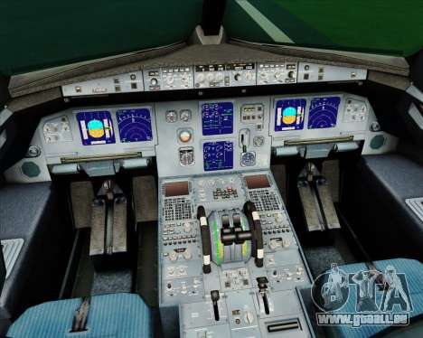 Airbus A321-200 CSA Czech Airlines pour GTA San Andreas salon