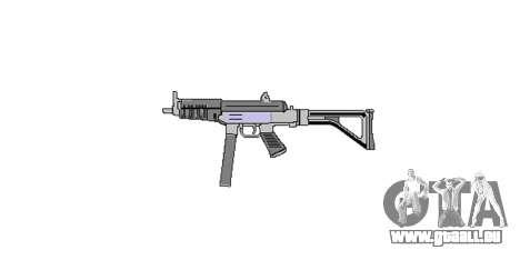 Pistolet Taurus MT-40 buttstock1 icon4 pour GTA 4 troisième écran
