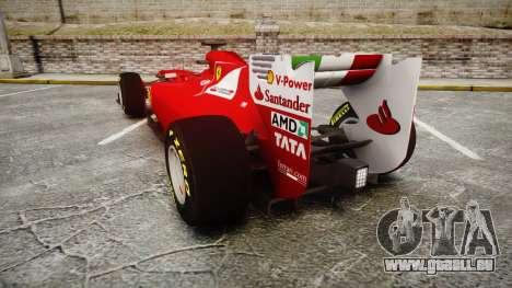Ferrari 150 Italia Track Testing pour GTA 4 Vue arrière de la gauche