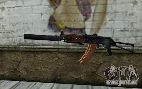 AKS-74U mit PBS-5 für GTA San Andreas