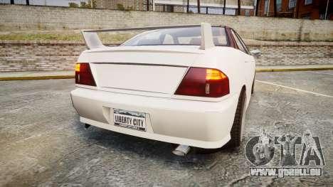 Dinka Chavos HSX pour GTA 4 Vue arrière de la gauche