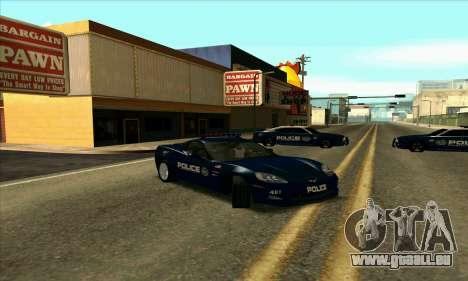 FCPD Chevrolet Corvette Z06 für GTA San Andreas