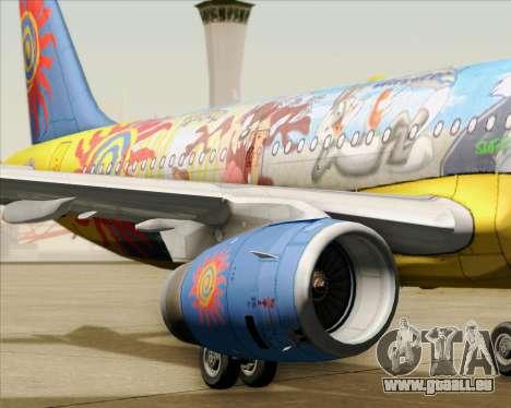 Airbus A321-200 pour GTA San Andreas moteur