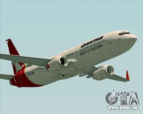 Boeing 737-838 Qantas (Old Colors) pour GTA San Andreas moteur