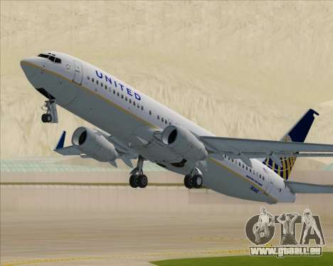 Boeing 737-824 United Airlines pour GTA San Andreas