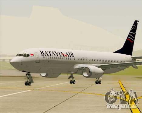 Boeing 737-800 Batavia Air pour GTA San Andreas salon
