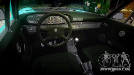 Porsche 911 Carrera 4 1989 pour GTA 4 est une vue de l'intérieur