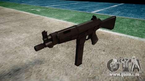 Pistolet Taurus MT-40 buttstock1 icon4 pour GTA 4