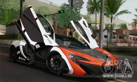 McLaren P1 HQ pour GTA San Andreas vue de côté
