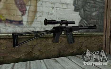 ВАЛ aus Half - Life Paranoia für GTA San Andreas zweiten Screenshot