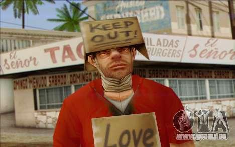 Vagabonds Skin 2 pour GTA San Andreas troisième écran