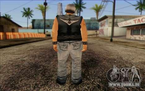 Biker from GTA Vice City Skin 2 für GTA San Andreas zweiten Screenshot