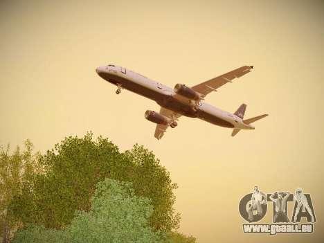 Airbus A321-232 jetBlue Woo-Hoo jetBlue für GTA San Andreas Innen