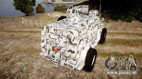 GAZ-3937 Vodnik für GTA 4 hinten links Ansicht