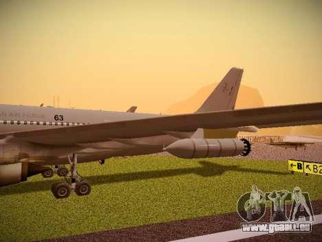 Airbus KC-45A (A330-203) Australian Air Force pour GTA San Andreas vue de côté
