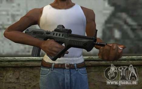 TAR-21 Bump Mapping v1 für GTA San Andreas dritten Screenshot