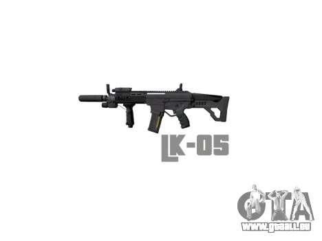 Maschine LK-05 Vertikalen Griff icon3 für GTA 4 dritte Screenshot