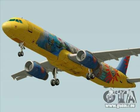 Airbus A321-200 pour GTA San Andreas