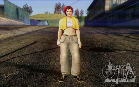 Mila 2Wave from Dead or Alive v18 für GTA San Andreas