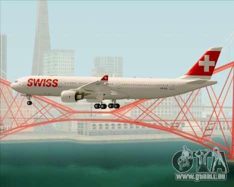 Airbus A330-300X Swiss International Air Lines pour GTA San Andreas roue