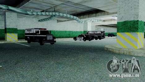 Véhicules neufs en SFPD pour GTA San Andreas sixième écran