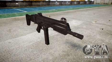 Pistolet SMT40 avec crosse icon3 pour GTA 4