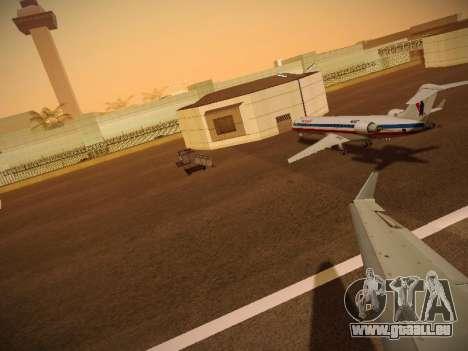 Bombardier CRJ-700 American Eagle pour GTA San Andreas roue