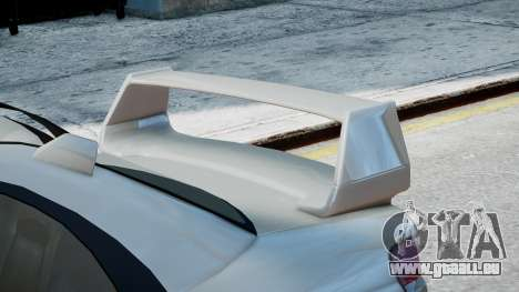 Subaru Impreza WRX STi pour GTA 4 Vue arrière de la gauche