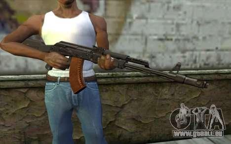 L'AK-103 pour GTA San Andreas troisième écran