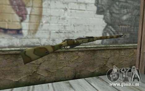 Mosin-v8 pour GTA San Andreas deuxième écran