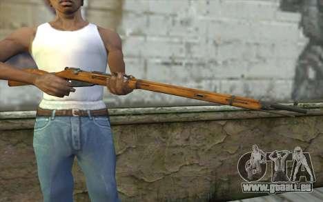 Die Gewehre Mosin-v1 für GTA San Andreas dritten Screenshot