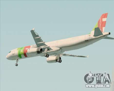 Airbus A321-200 TAP Portugal pour GTA San Andreas moteur