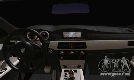 BMW M5 E60 Lumma für GTA San Andreas zurück linke Ansicht
