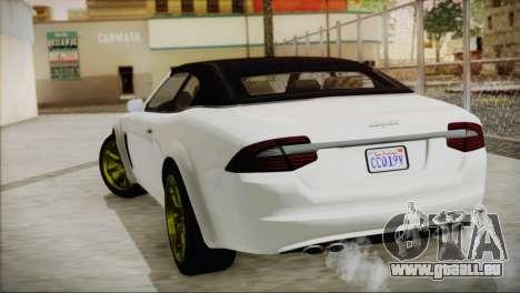 Lampadati Felon GT pour GTA San Andreas laissé vue