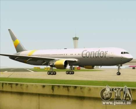Boeing 767-330ER Condor für GTA San Andreas Innenansicht