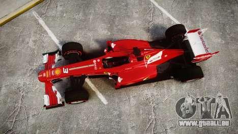 Ferrari F138 v2.0 [RIV] Alonso TSSD für GTA 4 rechte Ansicht