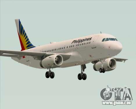 Airbus A319-112 Philippine Airlines für GTA San Andreas