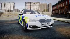 BMW 335i 2013 Central Motorway Police [ELS] pour GTA 4