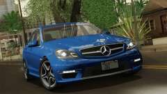Mercedes-Benz C63 AMG Sedan 2012 für GTA San Andreas