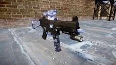 Gun UMP45 Blue Tiger