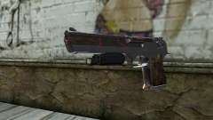 Silver Desert Eagle für GTA San Andreas