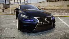Lexus IS 350 F-Sport pour GTA 4