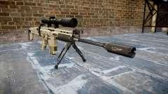 Fusil Mk 17 SCAR-H bipied