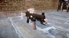 Pistolet UMP45 fleur de Cerisier