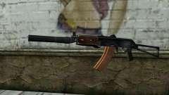 L'AKS-74U avec du PBS-5