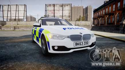 BMW 335i 2013 Central Motorway Police [ELS] für GTA 4