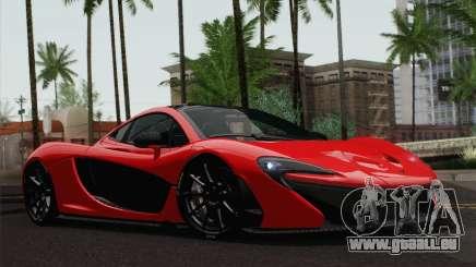 McLaren P1 HQ für GTA San Andreas