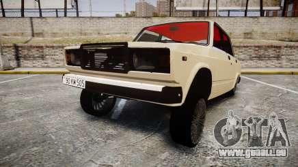 VAZ-2107 azerbaïdjanais style pour GTA 4