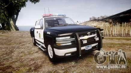 Chevrolet Silverado SWAT [ELS] pour GTA 4